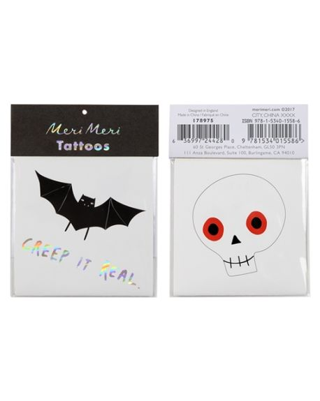 Meri Meri - Halloween Tattoos