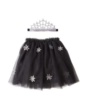 Meri Meri - Halloween Costume - Cobweb tutu with Headband