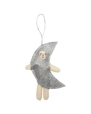 Meri Meri - Décoration de sapin - Costume Lune Argent