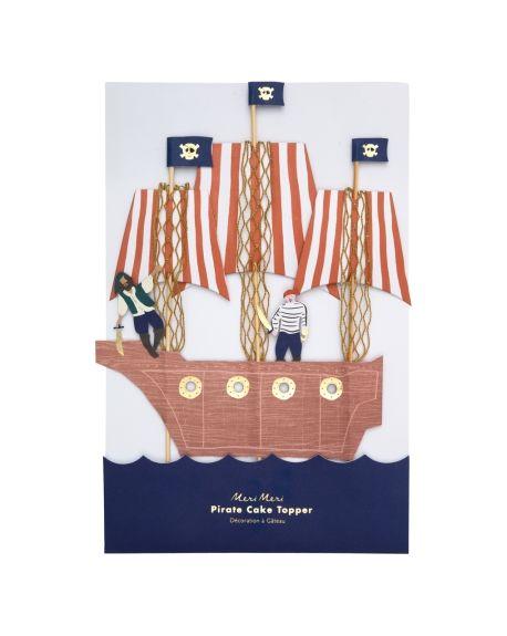 Meri Meri - Décoration à Gâteau - Pirate
