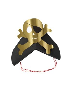 Meri Meri - Chapeaux Pirates - Pack de 6