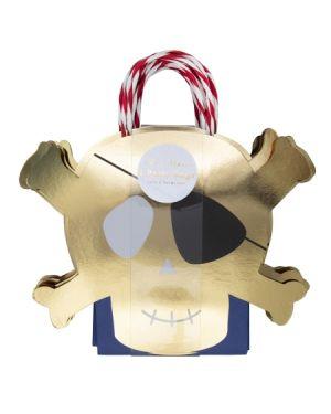Meri Meri - Sac Cadeaux Pirates - x 8