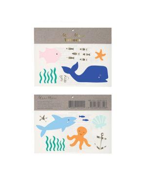 Meri Meri - Tatouages Sous la Mer