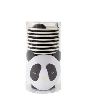 Meri Meri - Gobelets Panda - Lot de 6