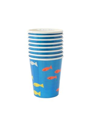 Meri Meri - UNDER THE SEA Cup - Set of 8