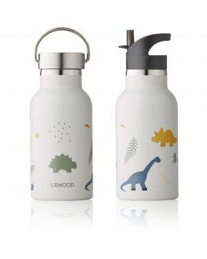Liewood - Gourde à eau en acier Anker - Dino mix