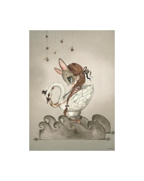 """MRS. MIGHETTO - Affiche """"Miss Edda"""""""