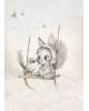 "MRS. MIGHETTO - Affiche ""Mini Bird Master"" 50x70 cm"