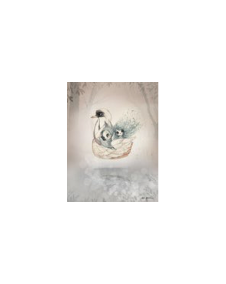 MRS. MIGHETTO - Miss Bianca/ Swan Boat - 2 pack size 18x24 cm