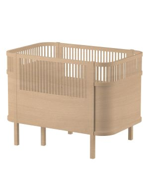 SEBRA - Baby and junior bed 0-7 years old - Wooden Edition