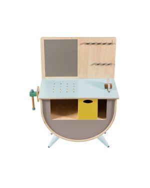 SEBRA - Play tool bench - warm grey
