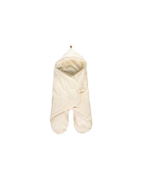 Nobodinoz - Kiss Me mid-season baby wrap - Honey Sweet Dots