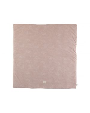 Nobodinoz - Tapis Colorado - White Bubble/ Misty Pink - 100x100
