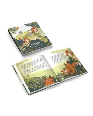 Jarvin Crew - Livre Roxana et le renard en danger (Trilingual Edition)