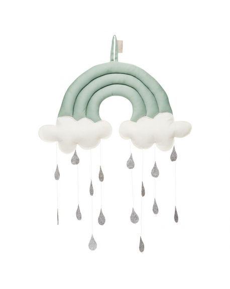 CAM CAM COPENHAGEN - Music Mobile Rainbow - Sea Green