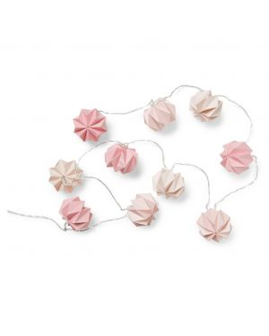CAM CAM COPENHAGEN - Origami String LED Lights - Mix Rose