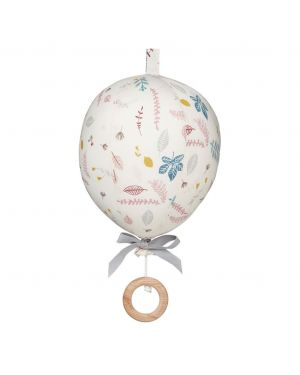 CAM CAM COPENHAGEN - Mobile musical Ballon - Pressed Leaves Rose
