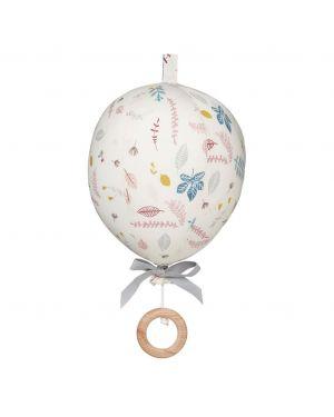 CAM CAM COPENHAGEN - Music Mobile Balloon - Pressed Leaves Rose