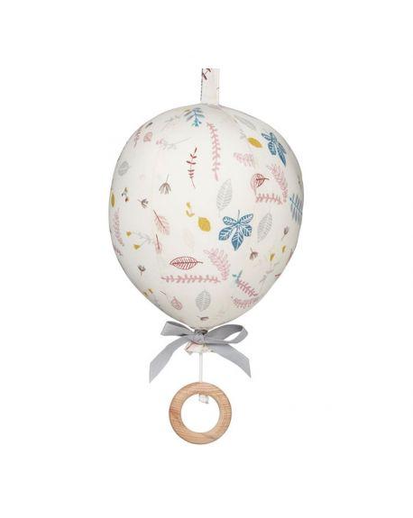 CAM CAM COPENHAGEN - Organic Cotton Baby Grab Ball - Pressed Leaves Rose