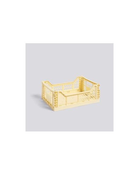 HAY - Moyenne Cagette pliable - Jaune