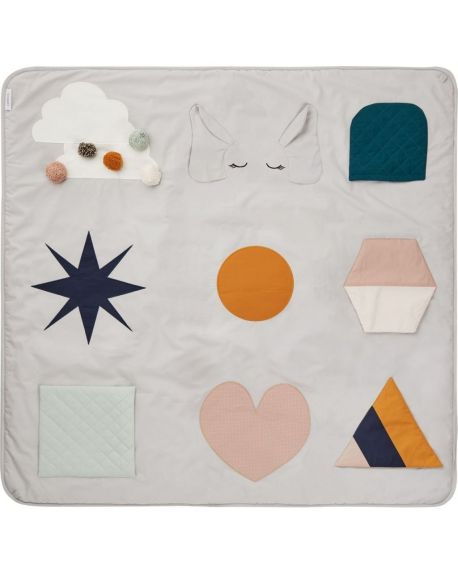 Liewood - Maude activity blanket - Grey