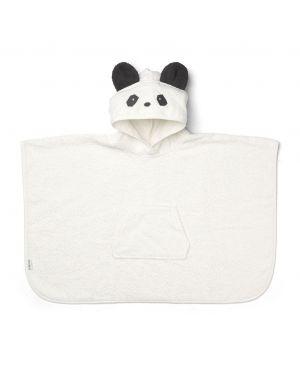 Liewood - Poncho Orla Panda - Blanc