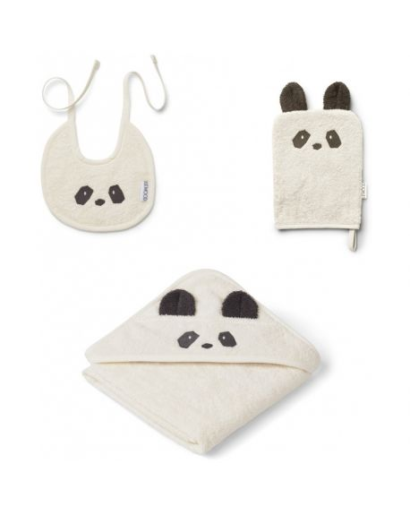 Liewood - Adele terry baby package - White