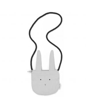Liewood - Mini sac en bandoulière lapin - Gris