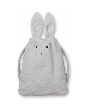 Liewood - Thor towel back pack Panda - Grey