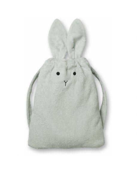Liewood - Thor towel back pack Panda - Mint