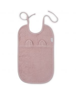 Liewood - Theo terry bib bear - Rose