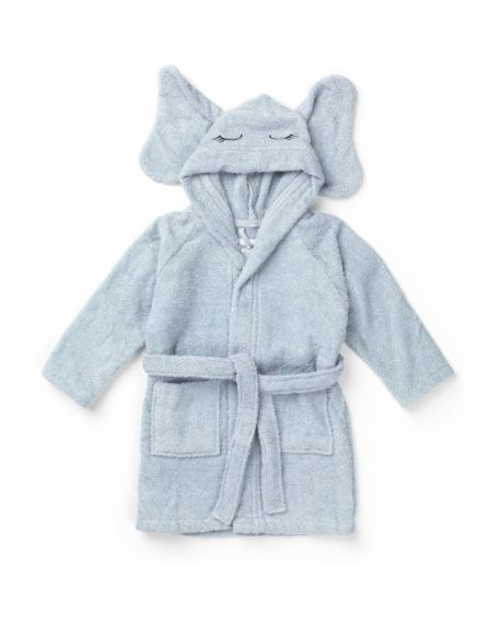 Liewood - Lily bathrobe Elephant - Blue