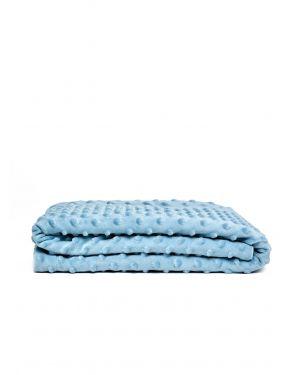Elva Senses - Couverture Bébé Bulle Bleue
