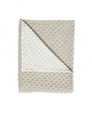 Elva Senses - Baby Grey & Creme Bubble Blanket