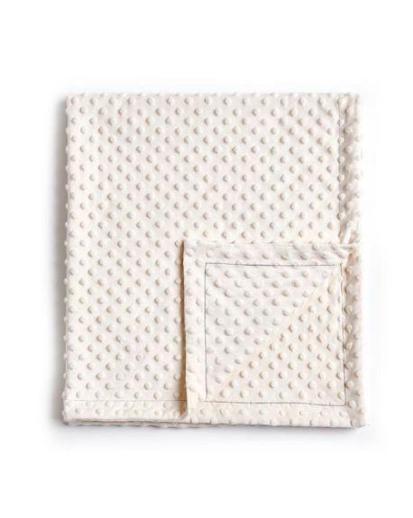 Elva Senses - Couverture Bébé Bulle - Blanc