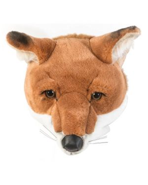 WILD & SOFT - Trophy in plush - Fox's head - Louis