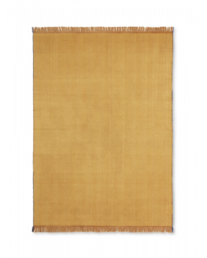 FERM LIVING - Herringbone Blanket - Mustard
