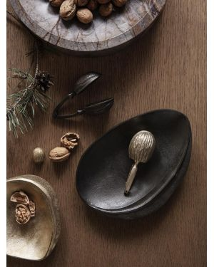 FERM LIVING - Plateau décoratif en laiton - Noir