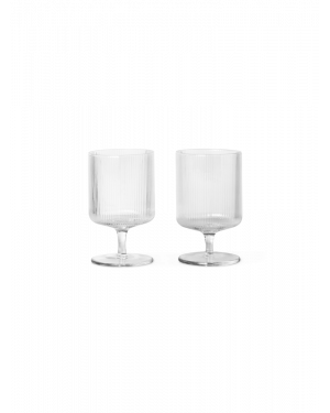 FERM LIVING - Ripple Wine Glasses - Set of 2