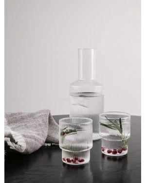 FERM LIVING - Verres à eau Ripple - Pack de 4