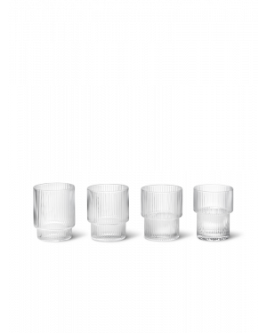 FERM LIVING - Ripple Glasses - Set of 4