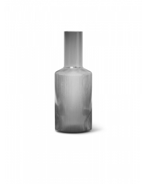 FERM LIVING - Ripple Carafe - Smoked Grey