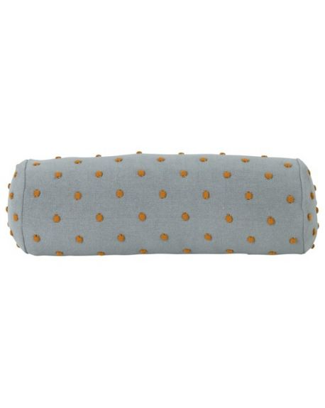 Ferm LIVING - Popcorn Bolster Cushion - Dusty Mint