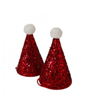 Meri Meri - 8 Mini Santa Party Hats