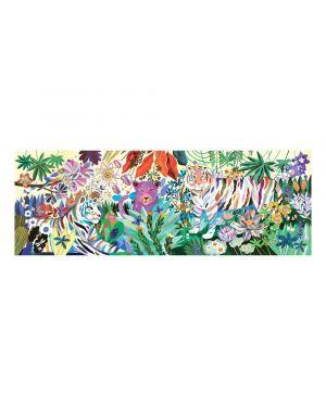 DJECO - PUZZLE GALLERY - Rainbow Tigers - 1000 pcs