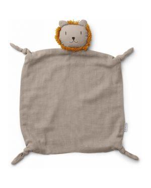 Liewood - Agnete cuddle cloth Lion - Beige