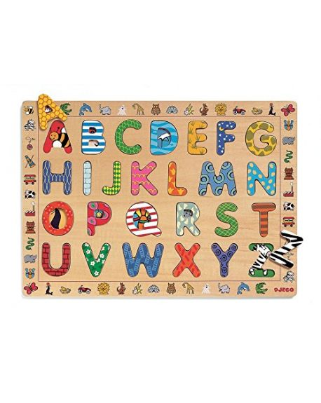 DJECO - Educatif Puzzle - ABC