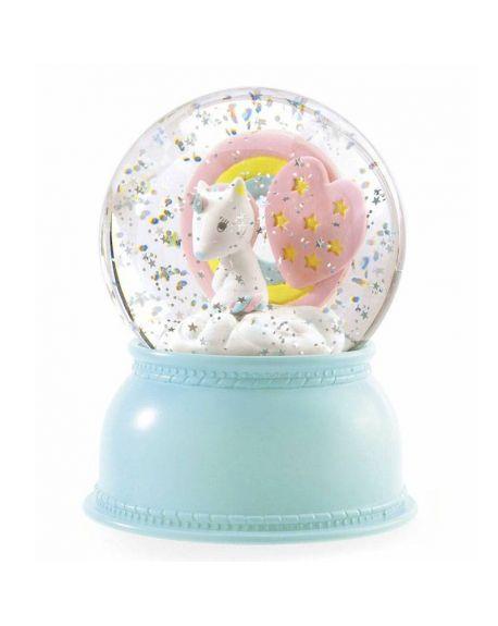 DJECO - SNOWY NIGHT LIGHT - Unicorn