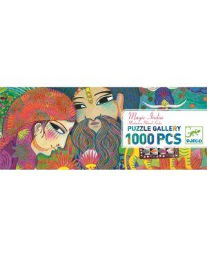 DJECO - PUZZLE GALLERY - Magic India - 1000 pcs