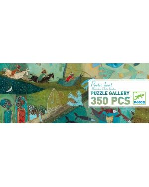 DJECO - PUZZLE GALLERY - Poetic boat - 350 pcs old